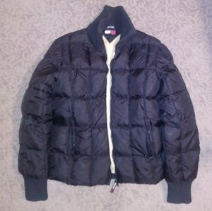 Tommy Hilfiger Black Puffer Coat